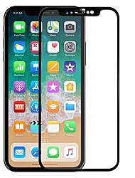 abordables -Vidrio Templado Protector de pantalla para Apple iPhone X Protector de Pantalla Frontal Alta definición (HD) Borde Curvado 2.5D