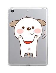 economico -Per iPad (2017) Custodie cover Transparente Fantasia/disegno Custodia posteriore Custodia Transparente Animali Cartoni animati Morbido TPU
