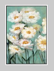 Floral/Botanical Framed Art Print Framed Canvas Frame Art Wall Art,Alloy Material With Frame For Home Decoration Frame Art Living Room 1