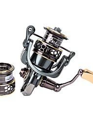 abordables -Moulinet pour pêche Moulinet spinnerbaits 5.2:1 Braquet+10 Roulements à billes Echangeable Pêche aux spinnerbaits Pêche aux jigs Pêche