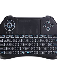 ipazzport iPazzPort mini keyboard KP-810-21Q(Backlit)-FR Luftmaus 2,4 GHz Wireless