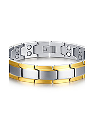 cheap -Men's Women's Chain Bracelet Rock Punk Titanium Steel Line Jewelry Party Gift Costume Jewelry