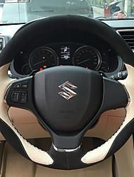 Automotivo Capas para Volante(Couro)Para Suzuki Todos os Anos Todos os Modelos