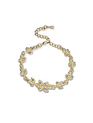 Per donna Bracciali a catena e maglie Diamante sintetico Natura Classico Strass Lega Di forma geometrica Gioielli Per Fidanzamento