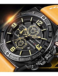 Men's Kid's Sport Watch Fashion Watch Wrist watch Unique Creative Watch Casual Watch Chinese Quartz Water Resistant / Water Proof Leather