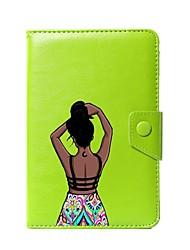 Estojo de couro universal sexy para capa de couro para 7 polegadas 8 polegadas 9 polegadas 10 polegadas tablet pc