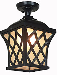 Rural Balcony Lamp American Garden Courtyard Patio Aisle Door LED Outdoor Waterproof Grape Droplight