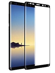 Недорогие -Закаленное стекло Защитная плёнка для экрана для Samsung Galaxy Note 8 Защитная пленка на всё устройство HD Уровень защиты 9H