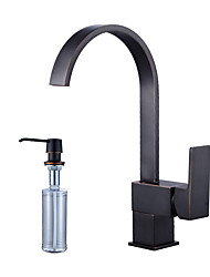 abordables -Conjunto Central Válvula Cerámica Bronce Aceitado , Grifería de Cocina