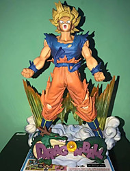 cheap -Anime Action Figures Inspired by Dragon Ball Goku PVC CM Model Toys Doll Toy