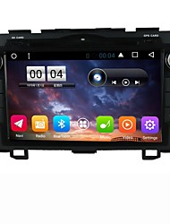 abordables -2 din capacitive touch lcd coche dvd player android 6.0 para honda crv 2008-2011
