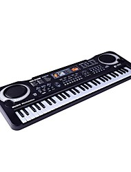cheap -Music Toys Toy Instruments Electronic Keyboard Piano Educational Toy Toys Piano Musical Instruments Rectangle Rechargeable Simulation Fun