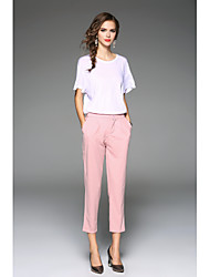 cheap -Women's Pants Pants - Solid Colored