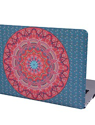 cheap -MacBook Case for MacBook Air 13-inch Macbook Air 11-inch MacBook Pro 13-inch with Retina display Mandala TPU Material