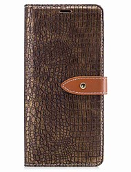 cheap -Case For Samsung Galaxy Note 8 Wallet Card Holder Flip Magnetic Full Body Solid Color Hard PU Leather for Note 8