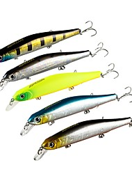 "abordables -1 pcs Señuelos duros g/Onza,115 mm/4-1/2"" pulgada Pesca de Mar Pesca de baitcasting Pesca al spinning Pesca jigging Pesca de agua dulce"