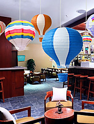 cheap -1Pcs 30Cm Hot Air Balloon Wedding Decoration Children's Bedroom Hanging Decorations Random Design