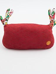 baratos -Descanso de Cabeça para Carros Encostos de cabeça Kits de almofada de cabeça e cintura Vermelho Verde Linho Desenho for Universal Todos