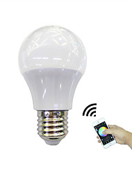 cheap -1 pc 4.5W 350 lm E27 LED Smart Bulbs 3 leds High Power LED Bluetooth APP Control RGB+Warm AC 100-240V