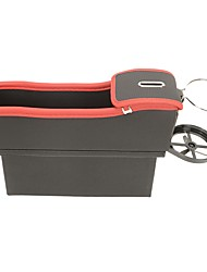Недорогие -карандаш водонепроницаемый авто сиденье щель зазор карман большой ящик для хранения - коричневый