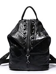 preiswerte -Damen Taschen Kuhfell Schultertasche Perlenstickerei für Normal Draussen Ganzjährig Schwarz Rote