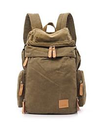 cheap -Men Bags Canvas Sports & Leisure Bag Zipper for Casual Outdoor All Seasons Blue Military Green Khaki