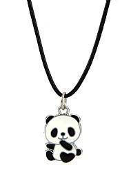Men's Women's Pendant Necklaces Jewelry Panda Alloy Animal Design Adorable Jewelry For Party Club