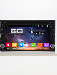 6.2 allgemeine 2 din kapazitive touch lcd auto dvd player android 6.0
