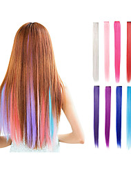 cheap -Hair Extension Straight Classic Clip In Daily High Quality Human Hair Extensions