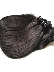 Недорогие -хорошее качество бразильские прямые человеческие волосы bundles 5pieces 500g серия 8a бразильские виргинские волосы расширяет волосы