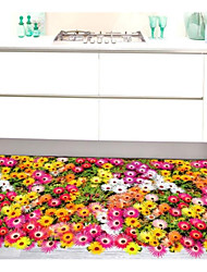 cheap -Floor Stickers - Plane Wall Stickers Floral / Botanical Bathroom