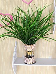 Недорогие -1 ветка пластиковые растения настольный цветок искусственные цветы свежий стиль
