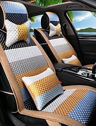 preiswerte -Karikatur Regenbogen Leder Seide Material Auto Sitz Kissen Sitz Sitz Sitz vier Jahreszeiten allgemein rundum-4 #