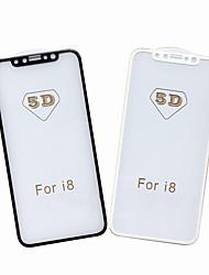 Vetro temperato Proteggi Schermo per Apple iPhone X Proteggi-schermo frontale Durezza 9H Estremità angolare a 2,5D