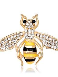 cheap -Women's Brooches Synthetic Diamond Bohemian Handmade Rhinestone Alloy Animal Shape Jewelry For Ceremony Stage