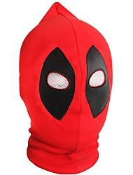 abordables -Superhéros Chapeau Halloween Fête / Célébration Déguisement d'Halloween Rouge Mode
