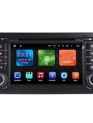 baratos -android 7.1.2 carro dvd player sistema multimídia 7 polegadas quad core wifi ex-3g dab para audi a4 2002-2007 we7078
