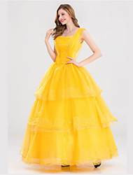 cheap -Princess Queen One Piece Dress Movie Cosplay Halloween Carnival New Year Tulle