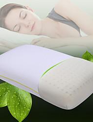 Confortable-Qualité supérieure Oreiller en latex naturel Appui-tête 100% Polyester