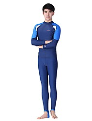 cheap -Dive&Sail Men's Rash Guard Dive Skin Suit Diving Suit Quick Dry, Stretchy Full Body Diving Fashion Spring / Summer