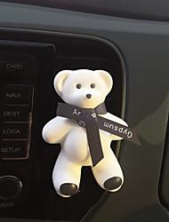 carro de saída de ar grade perfume preto fita fofos grande urso encontrar fragrância oceano sabor purificador de ar automotivo