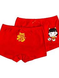 Girls' Print Underwear-100%Cotton-All Seasons Cartoon