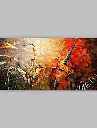 Pintados à mão Abstrato Artistíco Abstracto Legal 1 Painel Tela Pintura a Óleo For Decoração para casa