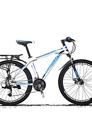 Mountain Bike Cycling 27 Speed 26 Inch/700CC SHIMANO Disc Brake Suspension Fork Steel Frame Carbon Anti-slip Aluminum Alloy Carbon Steel