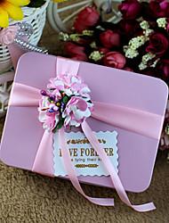 6 Porta-bomboniera-Cuboidi Metallo Bomboniere scatole Vasi e bottiglie per dolci Confezioni regalo