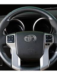 Settore automobilistico Copristerzo per auto(Pelle Fibra di carbonio)Per Toyota Tutti gli anni Corolla Prado
