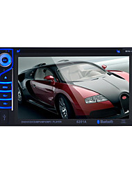 rádio do carro 2 din 6.2 polegadas lcd touch screen multimídia video dvd bluetooth