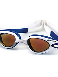 Óculos de Natação Óculos de Natação Protecção Exterior Gel Silica PC Transparentes