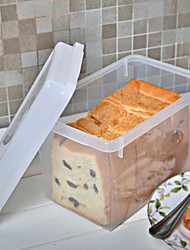 cheap -Environmental Protection Plastic Bread Fresh Box Kitchen Storage
