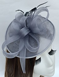 cheap -Feather Net Fascinators Hats Headpiece